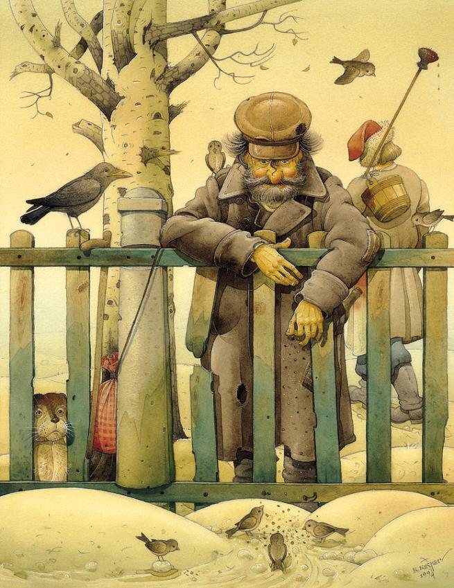 the-honest-thief-02-illustration-for-book-by-dostoevsky-kestutis-kasparavicius